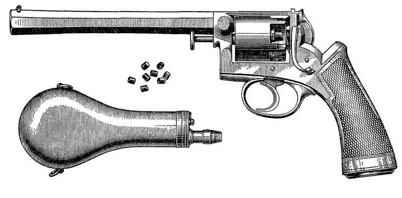 Револьвер системы Гольтякова.